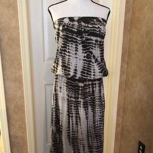 Off shoulder Tie Dye Dress